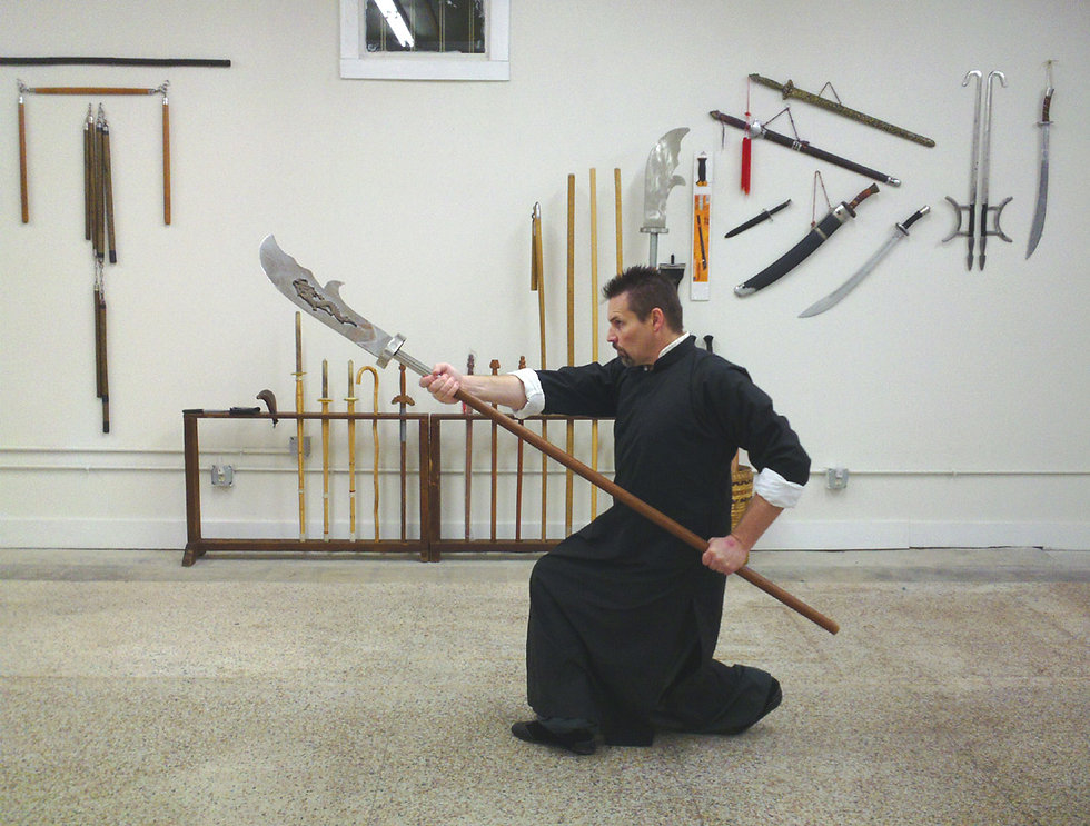 Kwan-do from Northern Shaolin kung-fu