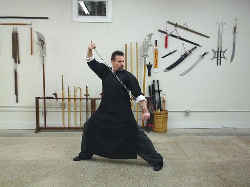 Kung-fu training