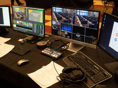 WE HAVE A NEW AV STAGING & PRODUCTION DIVISION!