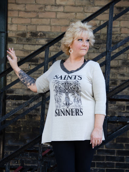 7880 Saints and Sinners Top