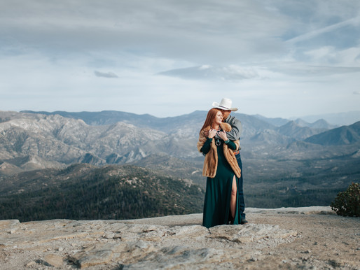Dome Rock California Engagement