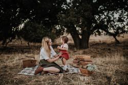 Picnic family photos