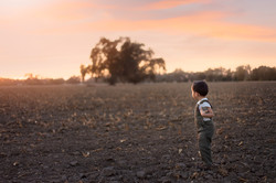 Beautiful child photography-sunset photography-
