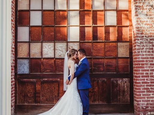 Gorgeous Rustic City Wedding