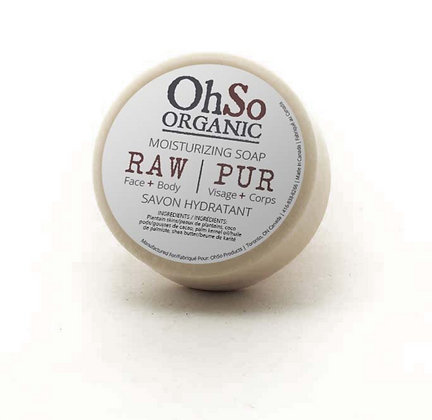 OhSo RAW Soap : unscented