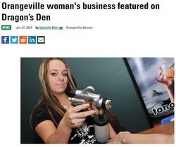 Orangeville.com Feature