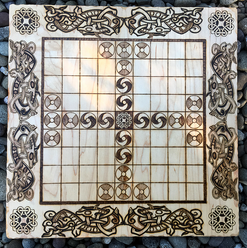 """Hnefatafl, 9x9 square variant, known as """"Tablut"""""""