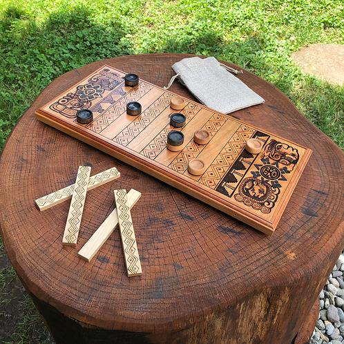 Puluc Game - a contemporary game with deep Mesoamerican roots