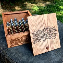 Storage Box for tafl pawns