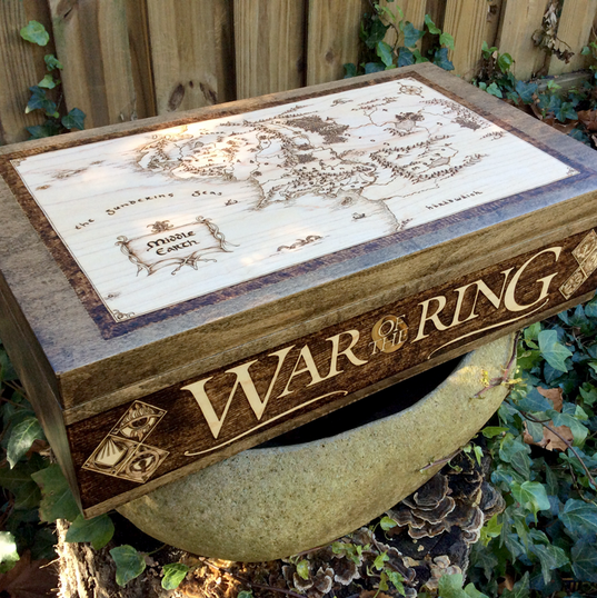 """Custom box for """"War of the Ring"""" board game"""