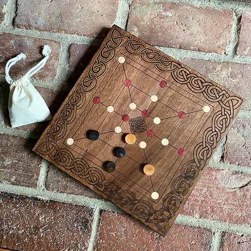 Merels, the Morris game - a game so ancient its origin is lost in time