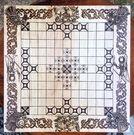 Hnefatafl, custom order - Sutton Hoo