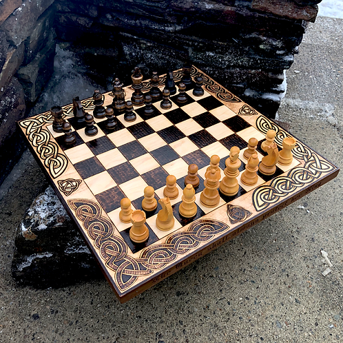 Chess & Checkers - two of the world's best known and most played games