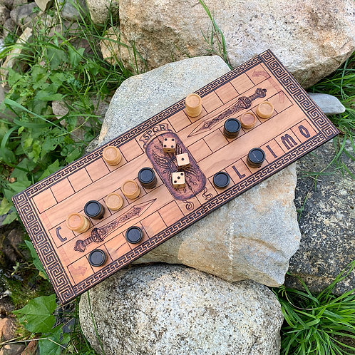 Ludus Duodecim Scriptorum: an ancient Roman racing game & Backgammon predecessor