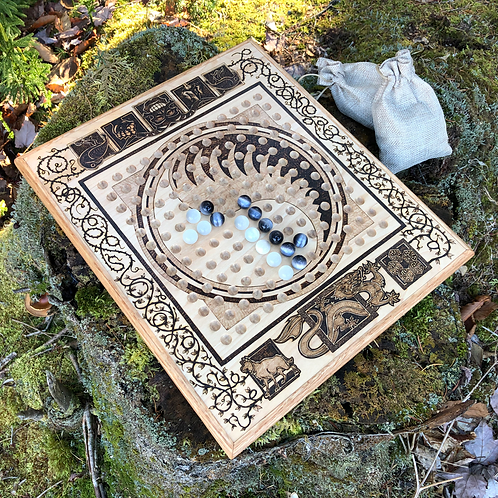 """Stones - a """"Wheel of Time"""" thematic version of ancient Chinese Go"""