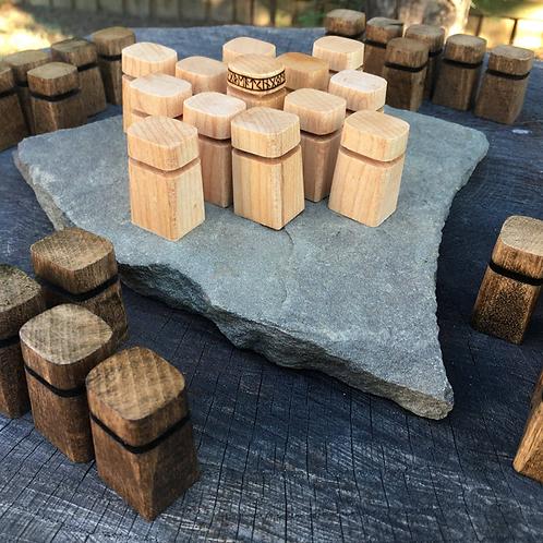 Obelisk Pawns: Upgrade item for hnefatafl games w/ a modern look & feel