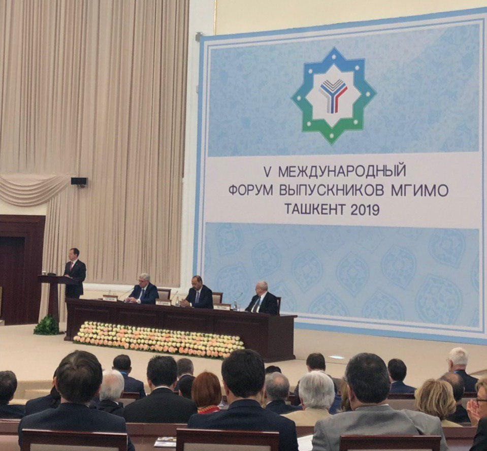 Medinskiy in Tashkent