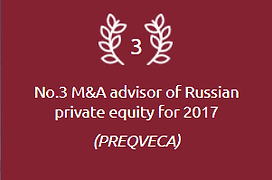 Top M&A advisor for private equity funds