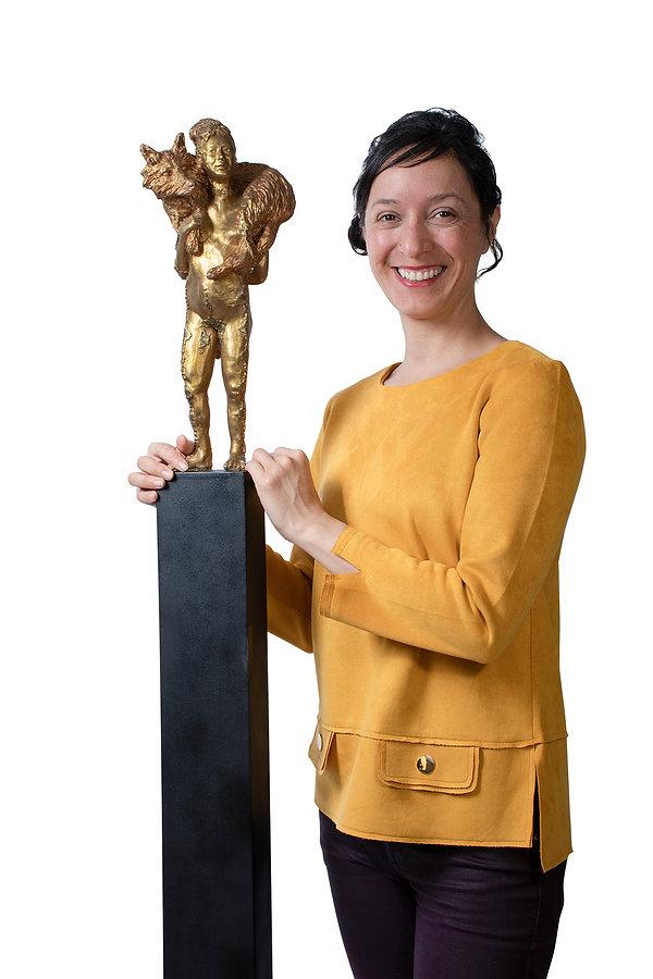 Escultura de Alejandra Zermeño