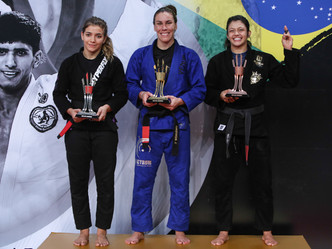Abu Dhabi Queen of Mats: nearly perfect, Luiza Monteiro finishes three out of four opponents on her