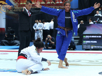 Abu Dhabi Grand Slam Rio: Gabi Pessanha coming home to win her third gold medal in the 2018/2019 sea