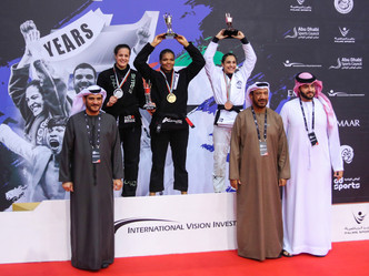 Gabrieli Pessanha writes her name as first ever heavyweight Abu Dhabi Queen of Mats