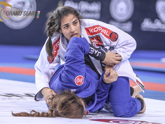 Abu Dhabi Grand Slam London: Thamara Silva fears no black belt as she goes for her fourth gold medal