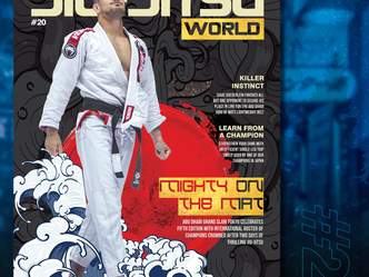 Out Now! Read Jiu-Jitsu World #20 - Mighty on the Mat