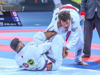 Abu Dhabi Grand Slam Rio: Purple belts and White belts kick off weekend of Jiu-Jitsu with thrilling