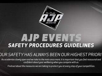AJP launches health safety guidelines for events in the 2020/2021 season
