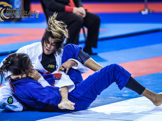 Abu Dhabi Grand Slam Tour Abu Dhabi: Champions fill the Mubadala Arena with emotions in day of epic