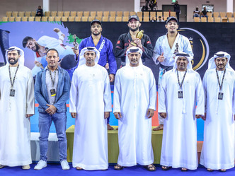Abu Dhabi King of Mats: Gabriel Arges tops the middleweight bracket with powerful performance in Abu