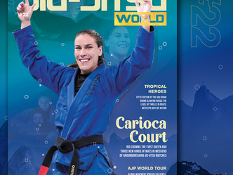 Out Now! Jiu-Jitsu World #22 - Carioca Court