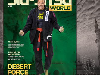 Out Now! Jiu-Jitsu World #23 - Desert Force