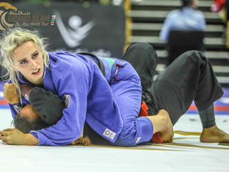 Abu Dhabi Grand Slam London: black belt champions bring the crowd to their feet with thrilling match