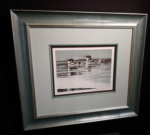 Loon Lithograph