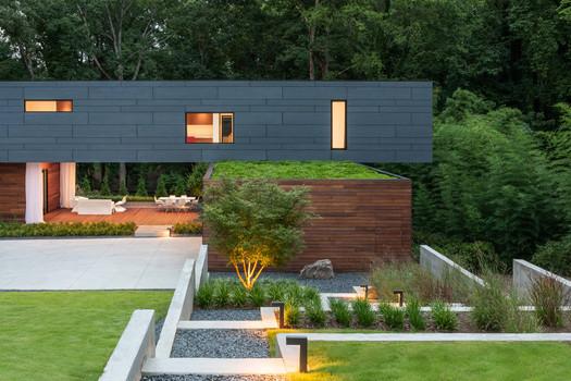 Split Box House