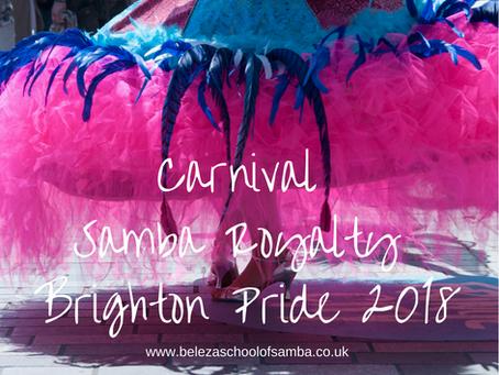 Carnival Samba Royalty - Brighton Pride 2018