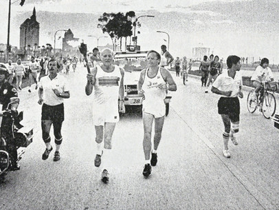 Lighting Up The Shore: The 1984 Summer Olympic Torch Run