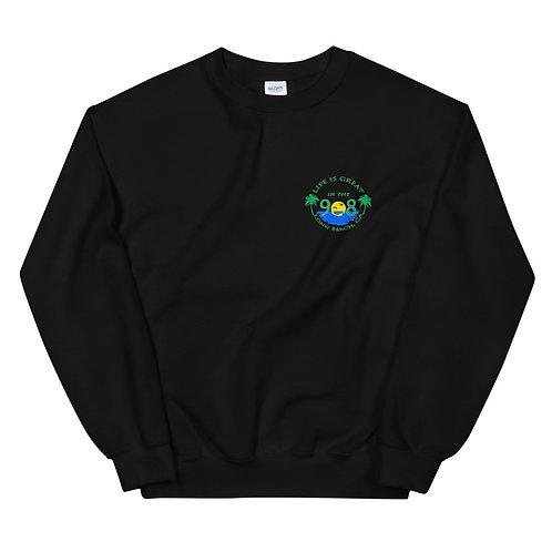 Life is Great in the 908 Crew Neck Sweatshirt