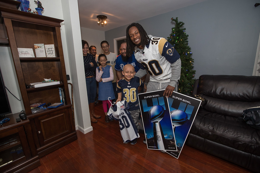Hector Sandoval and Todd Gurley