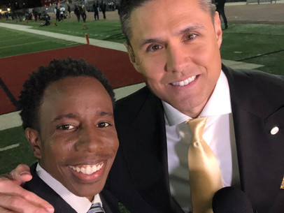 Podcast with Rahshaun Haylock: KTLA 5 Sports Reporter