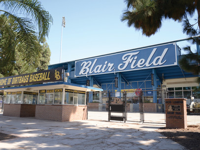 Blair Field: Named for the man who saw it's potential