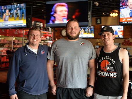 Shoot Your Shot with Joel Bitonio at On the Rocks Bar & Grill (PODCAST)