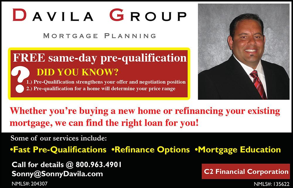 Davila Group Mortgage Planning