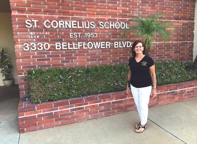 Nancy Hayes, Principal of St. Cornelius Catholic School