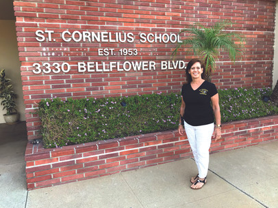 Nancy Hayes, Principal of St. Cornelius Catholic School