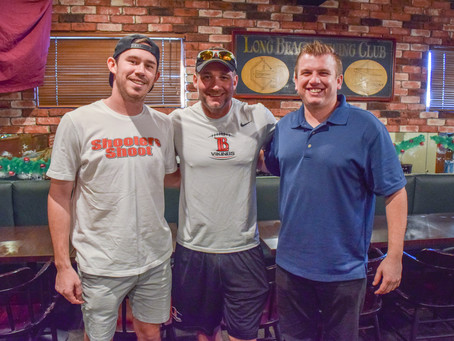 Shoot Your Shot with LBCC Football Coach Brett Peabody at Naples Rib Co. (PODCAST)