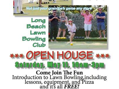 Long Beach Bowling Club Open House 5/11