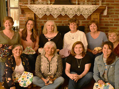 Local Caring Surgical Caps Ladies Redefine A Child's Hospital Experience